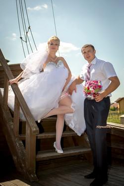 Сергей и Елена. Подвязка