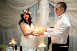 Свадебный очаг. Елена и Денис