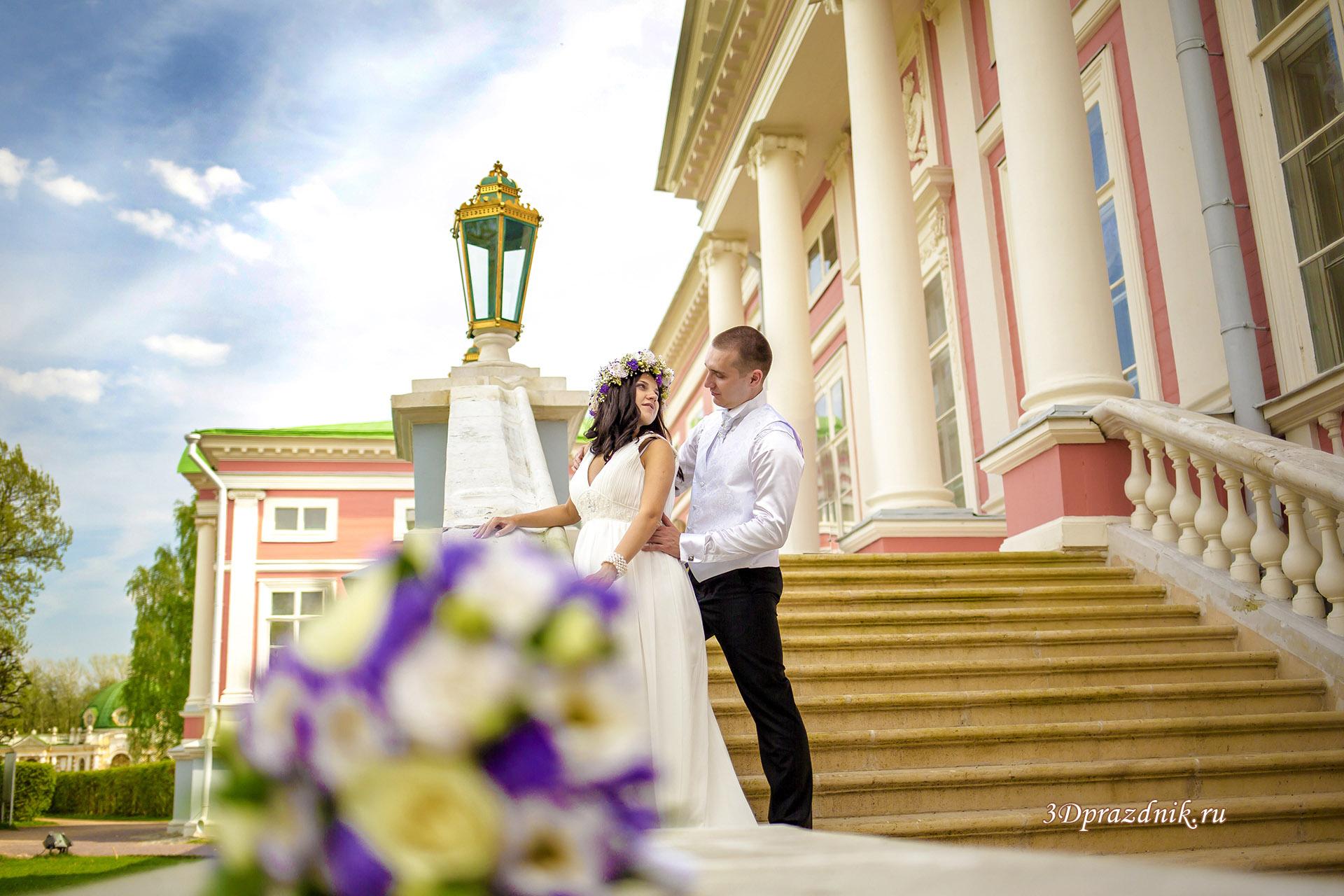 Парадная лестница Кусково