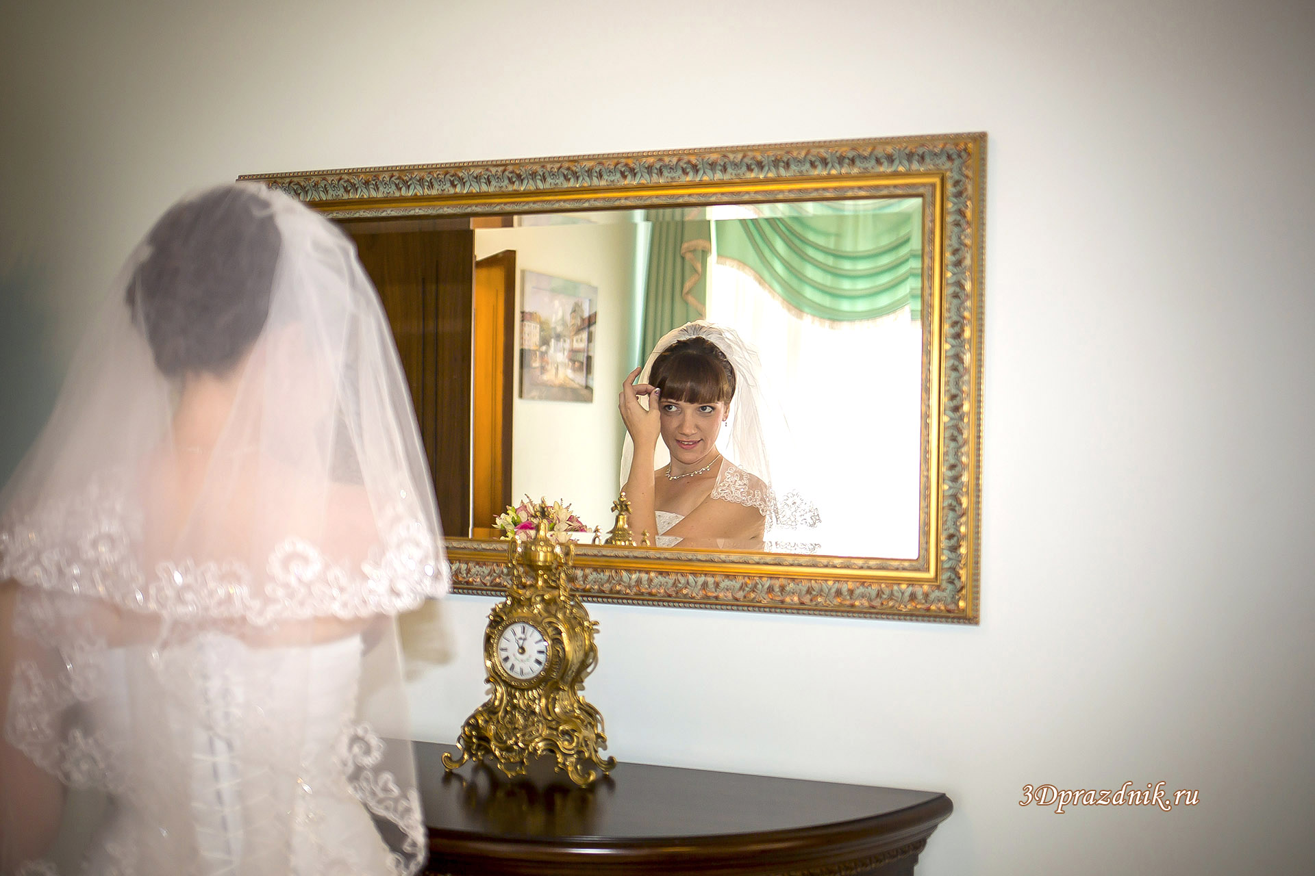 Невеста Светлана. Перед регистрацией