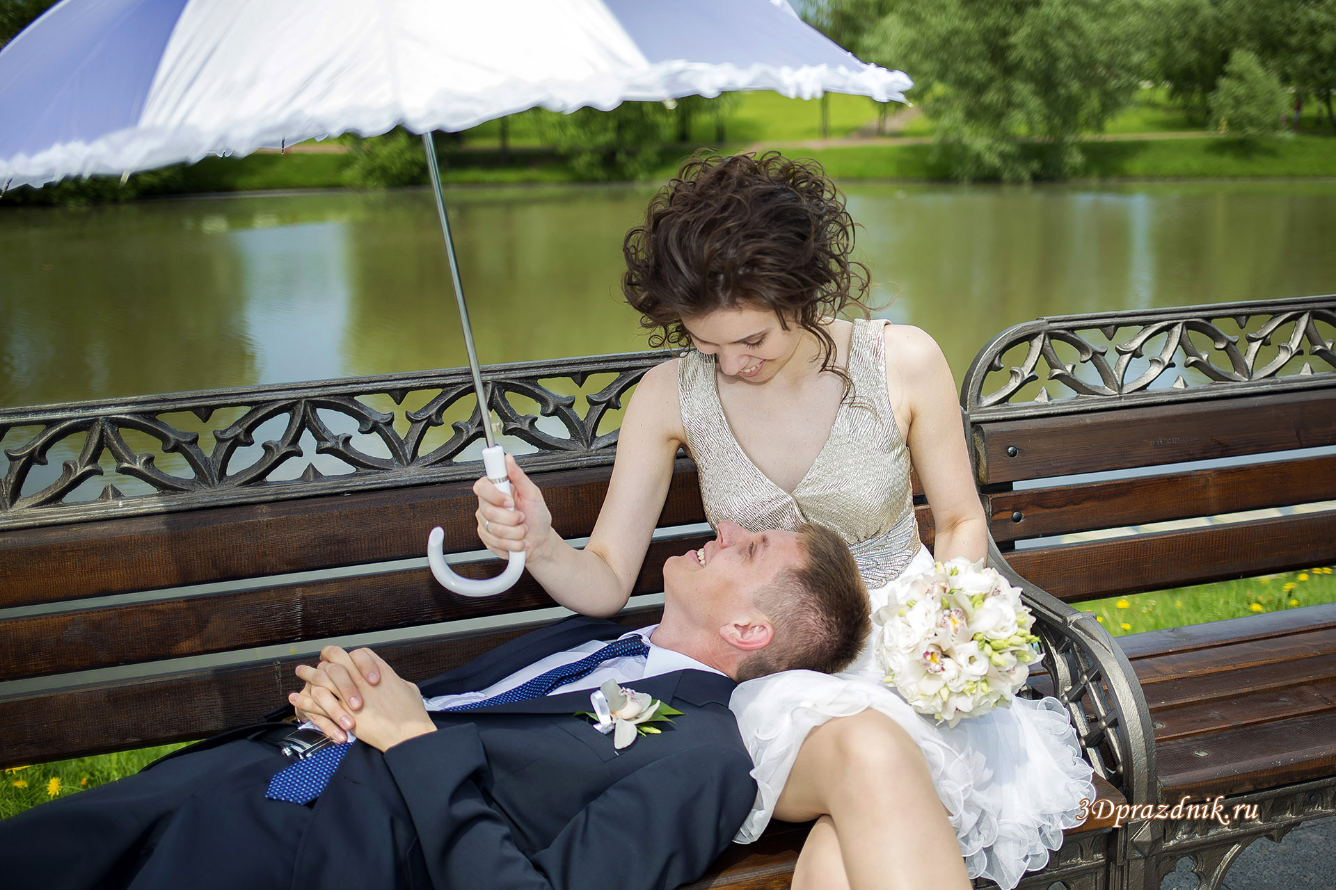 Руслан и Венера свадебная прогулка