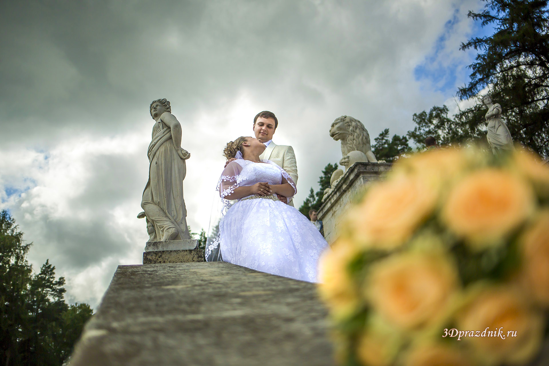 Цвет свадебного букета