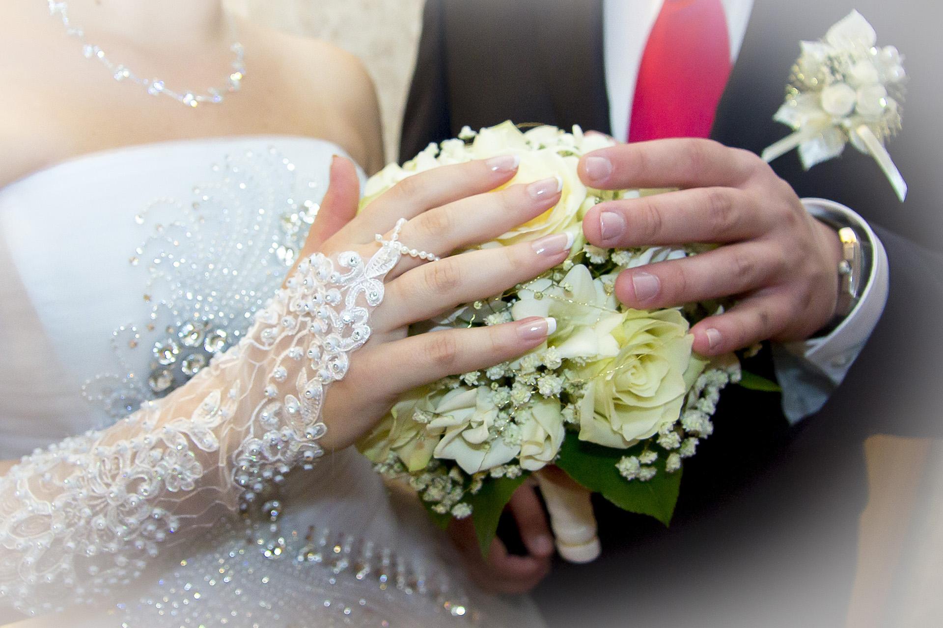Свадебный букет. Дмитрий и Татьяна