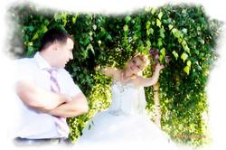 Жених и невеста волшебный лес.