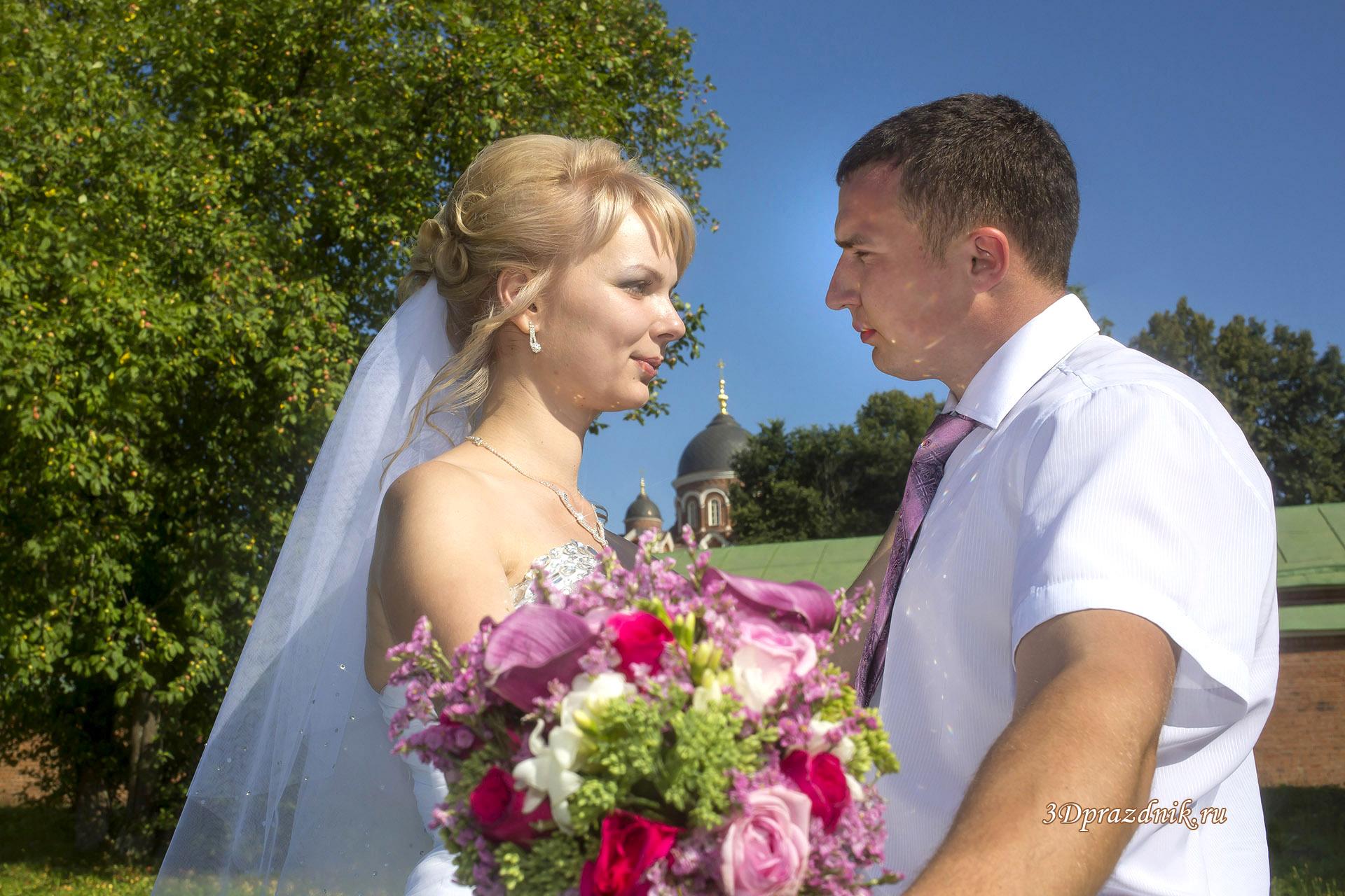 Сергей и Елена. Свадебный букет
