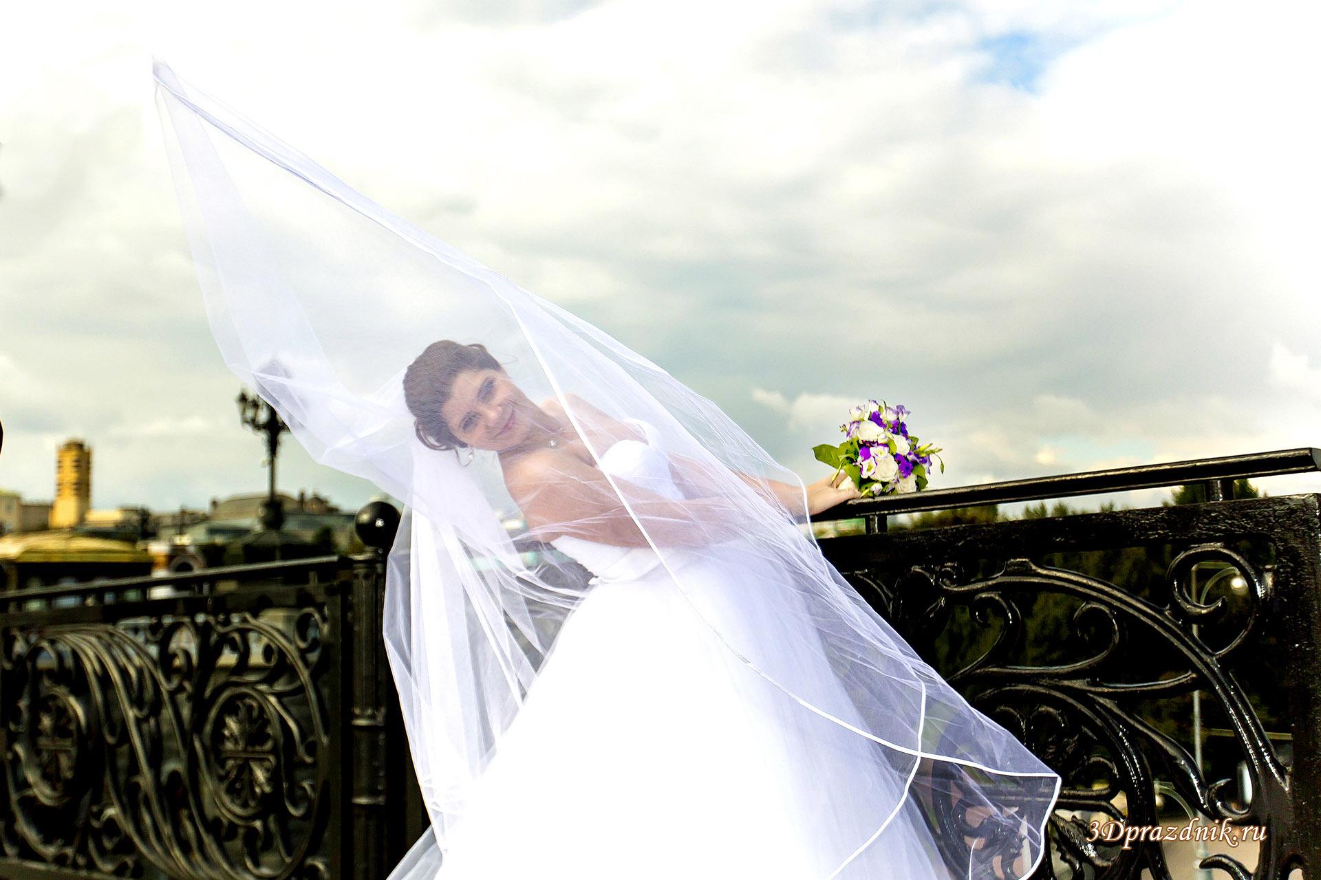 Невеста Ирина. За свадебной фатой.