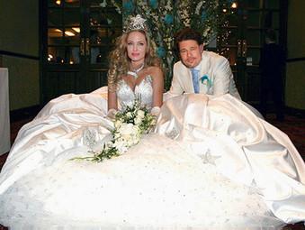Брэд Питт Анджелина Джоли  поженились