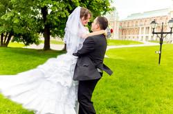 Жених Сергей и невеста Ольга