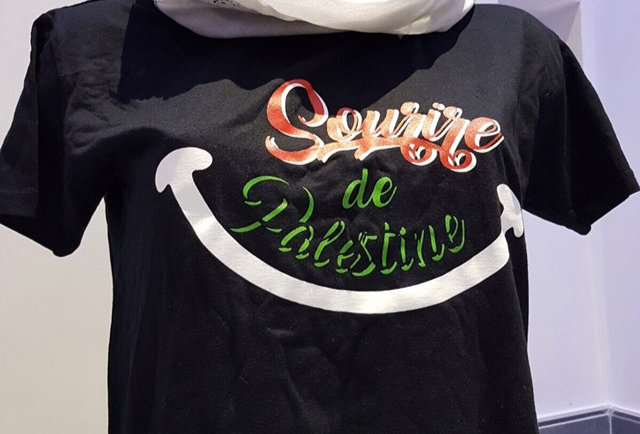 T-Shirt Sourire de Palestine