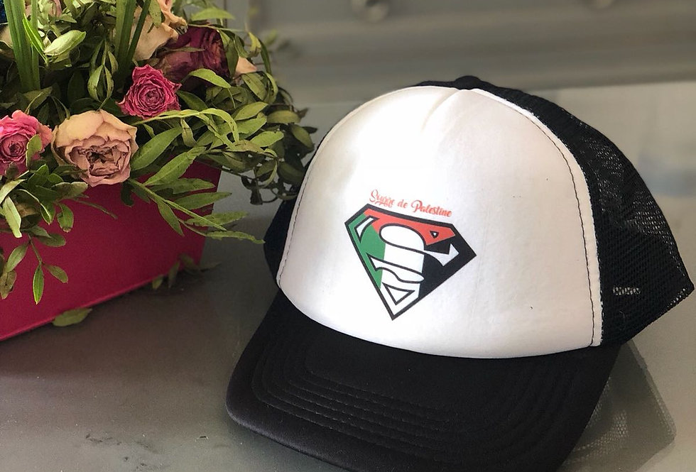Casquette logo Sourire de palestine