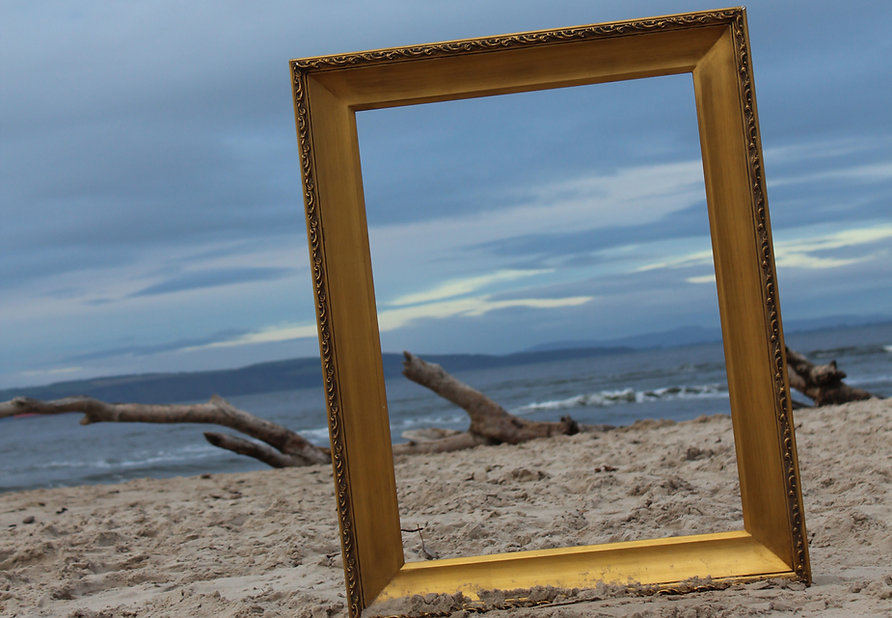 Black Isle from Nairn Beach by Airts & Pairts - Elle Tyler
