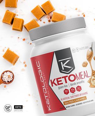 KetoLogic Salted Caramel KetoMeal