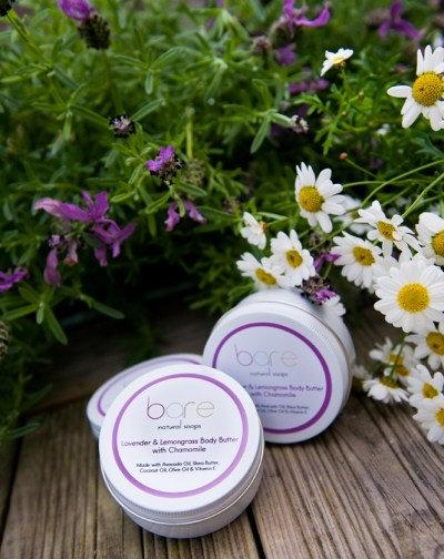Lavender & lemongrass body butter by Bare (150ml)