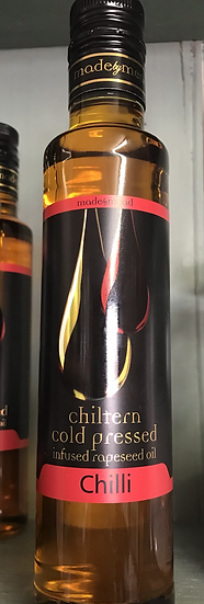 Chiltern cold pressed infused rapeseed oil - chilli (250ml)