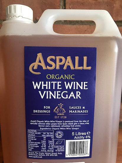 Organic white wine vinegar (100ml)