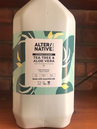 Tea tree & aloe vera shampoo (100ml)