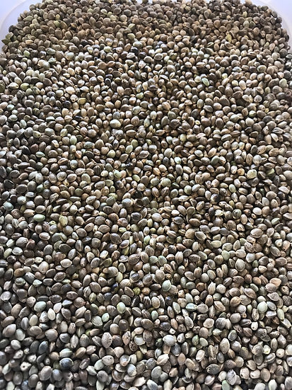 Organic hemp seeds (100g)