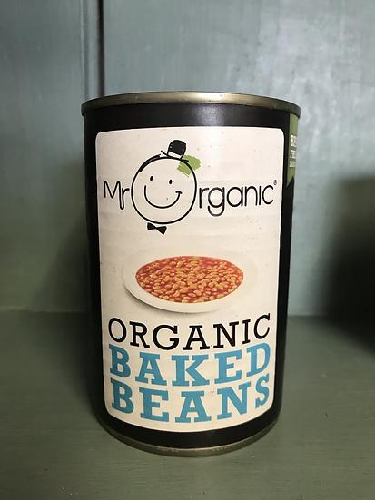 Mr Organic baked beans (400g)