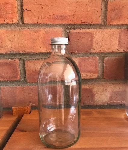 Clear screw top bottle (500ml)