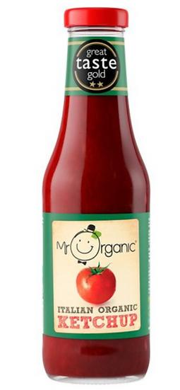 Mr Organic ketchup (480g)