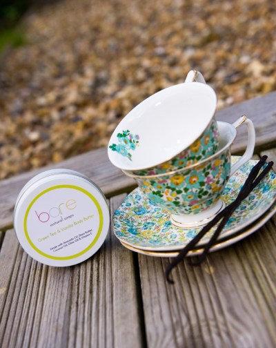 Green tea & vanilla body butter by Bare (150ml)