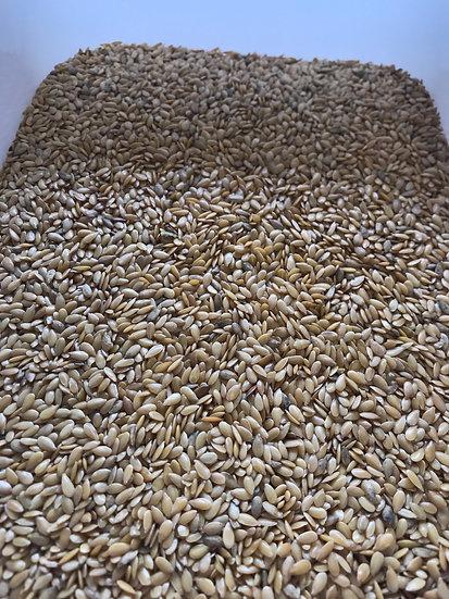 Organic golden flax seed (100g)