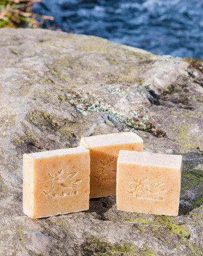 Juniper & citrus soap by Bare (100g)