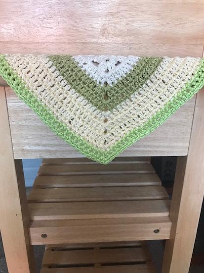 Charity yarn scrap 100% cotton dish cloth