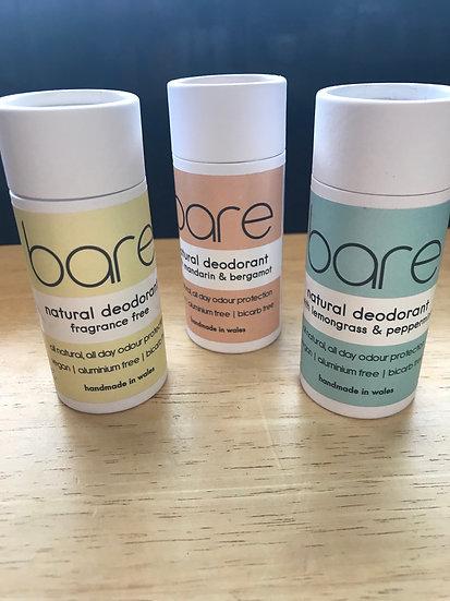 Bare deodorant (bicarb-free)