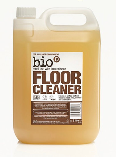 Bio-D floor cleaner with linseed soap (100ml)