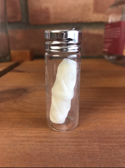 Natural corn dental floss