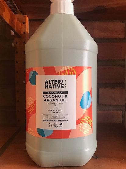 Coconut & argan oil shampoo (100ml)