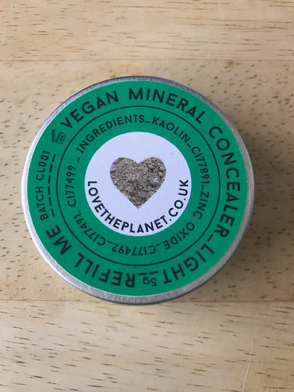 Love the Planet mineral concealer (5g tin)