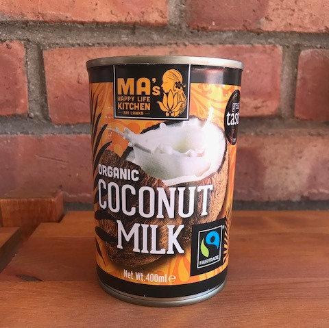 Organic fairtrade coconut milk (400ml)
