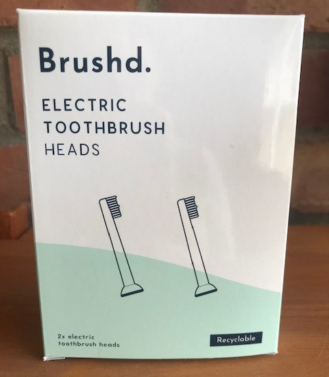 Recyclable electric toothbrush heads for Philips (2 pack)