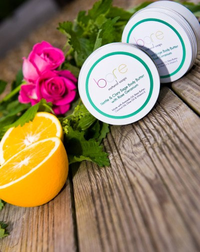 Nettle & clary sage body butter by Bare (150ml)