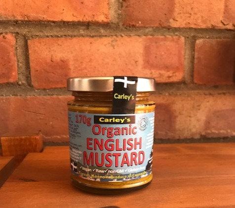 Organic English mustard (170g)