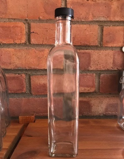 Clear marasca bottle (500ml)
