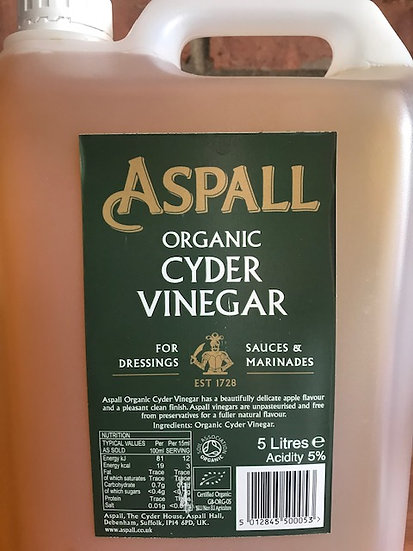 Organic cyder vinegar (100ml)