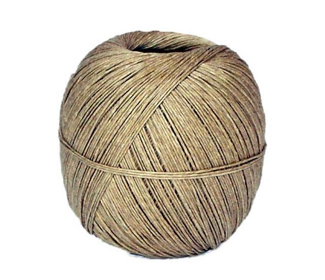 Natural flax twine (50m)