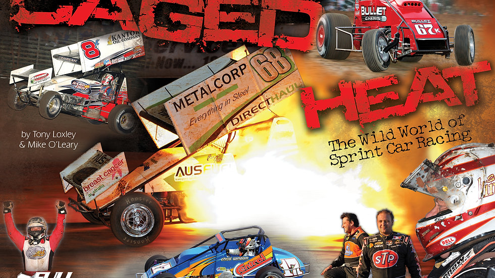 Caged Heat - The Wild World of Sprint Car Racing - BOOK 1