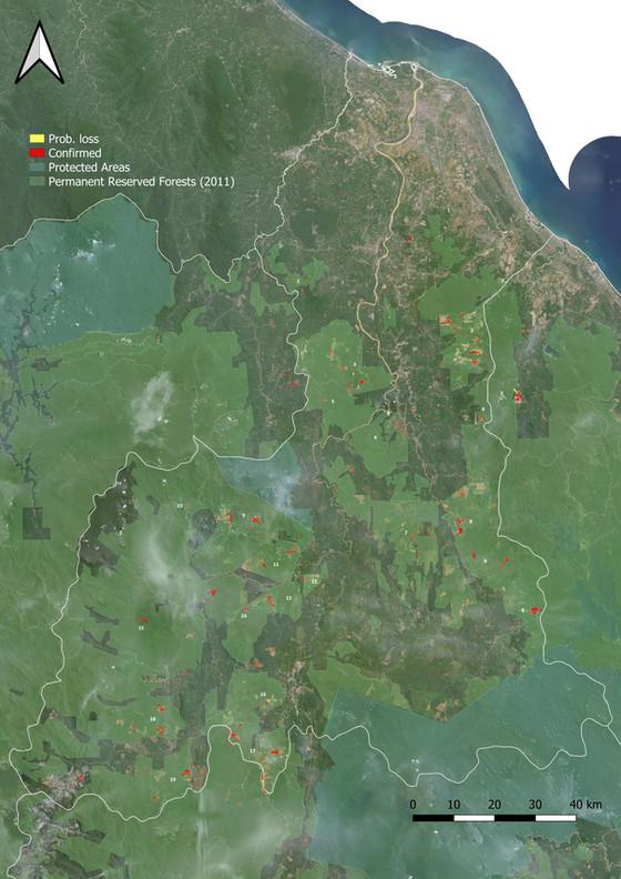 Malaysia Review 3 (Jan-Jul '21): East Coast Pen. Malaysia - Kelantan, Terengganu, Pahang