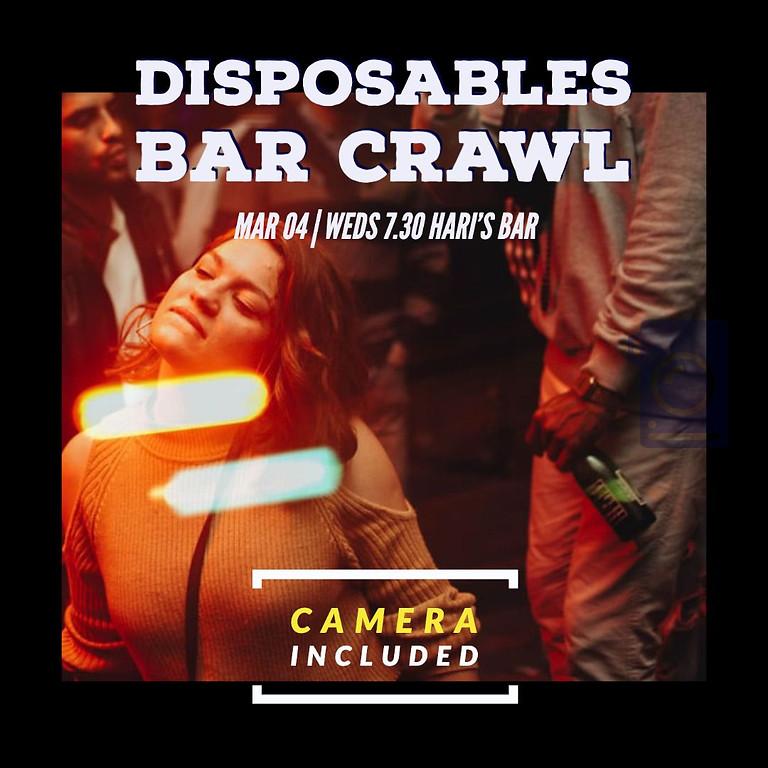 Social: Disposables Bar Crawl