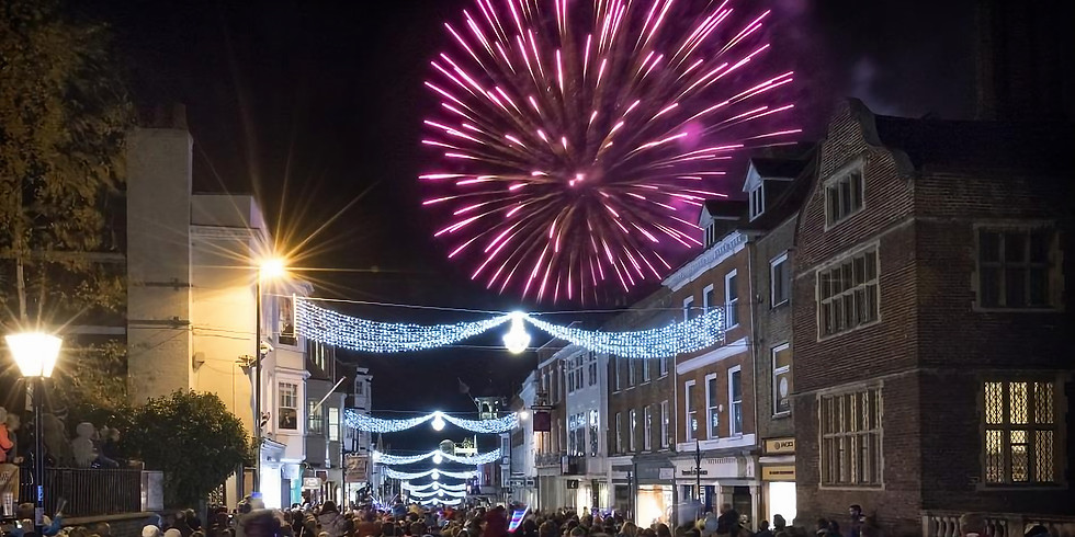 Guildford Lights Switch-on