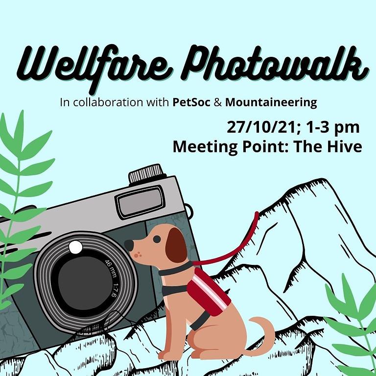 Welfare Photowalk with PetSoc and Mountaineering