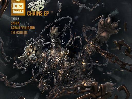 Zombie Cats - Chains EP - Eatbrain / EATBRAIN117