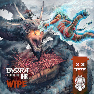 Gydra feat IHR - Wipe - Eatbrain / EATBRAIN111