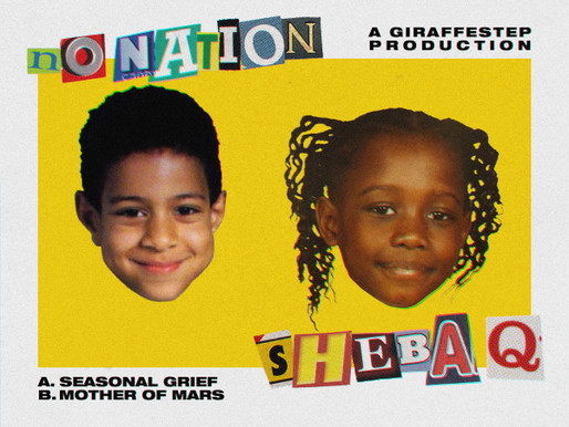 No Nation & Sheba Q - Seasonal Grief / Mother Of Mars - GiraffeStep / GSTEP021
