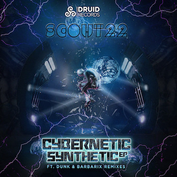 Scout 22 – Cybernetic Synthetic & Remixes - Druid Records / DRD030