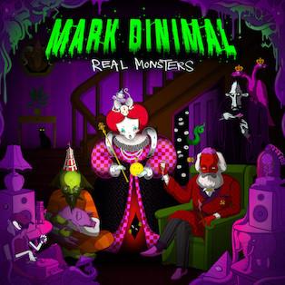 Mark Dinimal - Real Monsters EP - ProgRAM / PRGRAM129